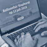 Nieuwe website balloonfair Staphorst